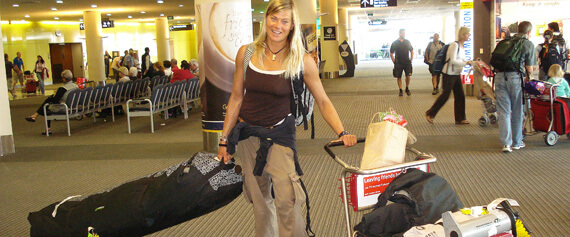 Arrival Christchurch – Quarantine inspection 4 quiver & kitegabi !?