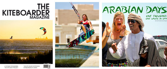 10 pages in The Kiteboarder mag!