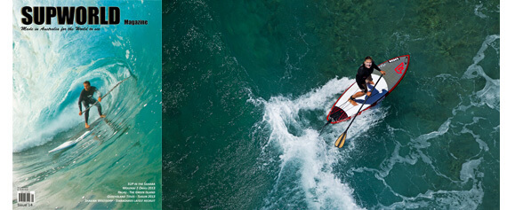Pure SUP-joy from the helicopter in the latest SUPWORLD Magazine