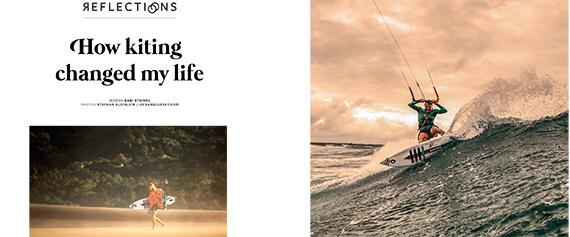 How Kiteboarding changed my Life