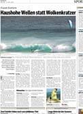 Haushohe Wellen statt Wolkenkratzer -> photo 2
