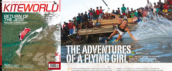 Huge feature in KITEWORLD!