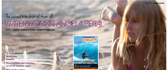 Check out my ITV with Angela Peral